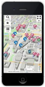 Dolphin Debit's Wave2 Locator App